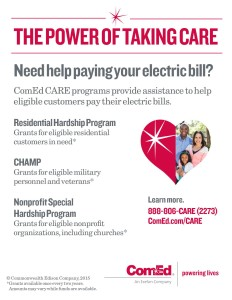 ComEd Cares Flyer