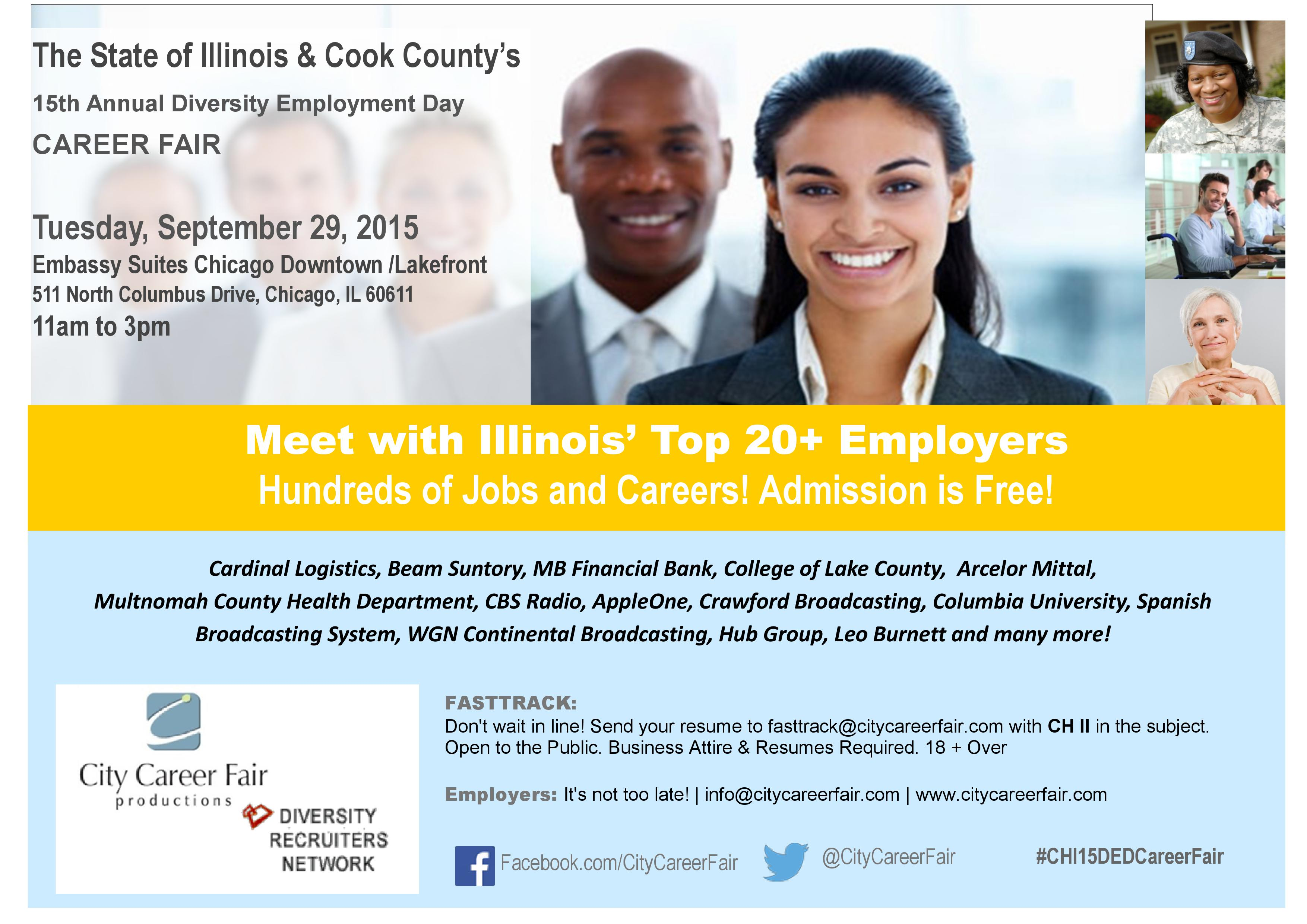 State of Illinois & Cook County's 15th Annual Diversity